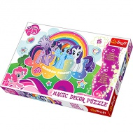My Little Pony fluorescenčné puzzle 15 dielov - Trefl