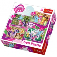 My Little Pony 4 v 1 puzzle - Trefl