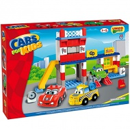 Unico: Stavebnica Cars for kids - Autoservis 108ks