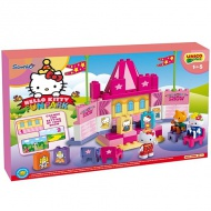 Unico: Stavebnica Hello Kitty Fun Park Divadlo 55ks