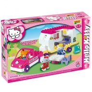 Unico: Stavebnica Hello Kitty Karavan 47ks