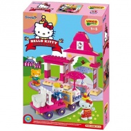 Unico: Stavebnica Hello Kitty Fun Park Vláčik 51ks