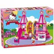 Unico: Stavebnica Hello Kitty Fun Park Ruské kolo 114ks
