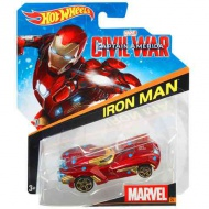 Hot Wheels Marvel: Ironman autíčko 1/64 - Mattel