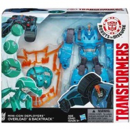 Transformers Robots In Disguise Mini-Con Deployers Overload a Backtrack figúry
