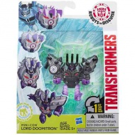 Transformers - Robots in Disguise: Mini-Con Lord Doomitron figúra
